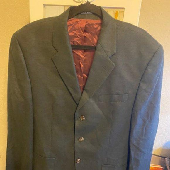 Ralph Ralph Lauren Linen Cotton Black Blazer